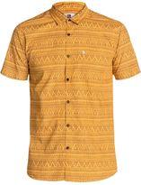 Quiksilver Men's Med Triangles Short Sleeve Shirt 8124069