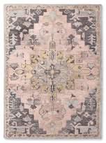 Threshold Pink and Gray Vintage Wool Rug
