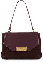 Zac Posen Eartha Envelope Shoulder Bag, Grape