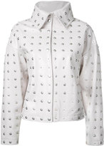 Donnah Mabel - studded jacket - women - Leather - 0