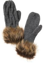 Athleta Faux Fur Mitts by Vincent Pradier®
