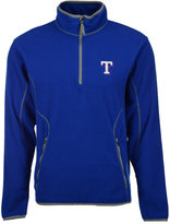 Antigua Men's Texas Rangers Ice Pullover Quarter-Zip Pullover