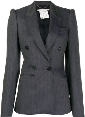 Stella McCartney Double Breasted Striped Blazer