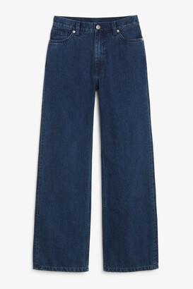 Monki Yoko dark blue jeans