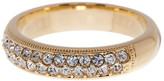 Nadri Crystal Embellished Band Ring - Size 7