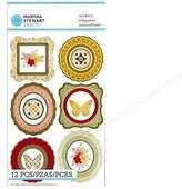 Martha Stewart Sticker Heirloom Frame & Icon