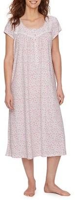 Eileen West Bolinas Rose Knit Nightgown