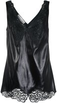 Stella McCartney 'Anastasia' v-neck lace camisole - women - Silk/Acetate/Viscose - 38