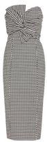 Veronica Beard Checked cotton dress