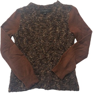 Jill Stuart Brown Wool Knitwear