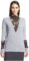 Thakoon Women's Lace Inset Pullover