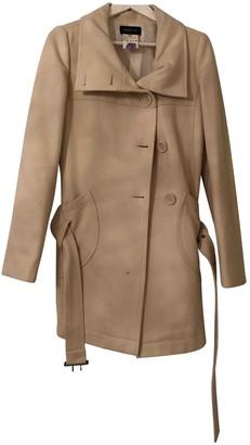 Patrizia Pepe White Wool Coat for Women