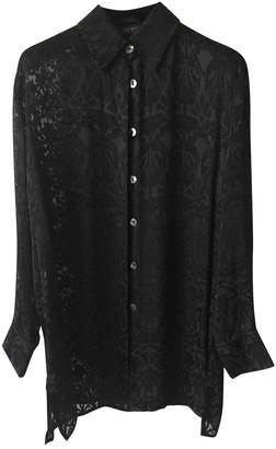 Liberty of London Designs Black Silk Top for Women