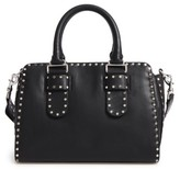 Rebecca Minkoff Medium Midnighter Leather Satchel - Black