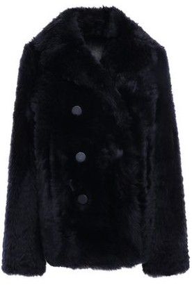 Joseph New Ector Teddy Double-breasted Shearling Jacket