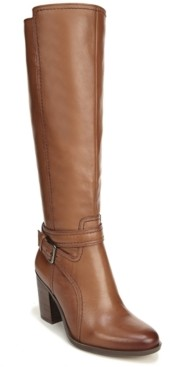 Naturalizer Kelsey Leather Riding Boots Women's Shoes