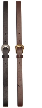Linea Pelle Western Belt - Pack of 2