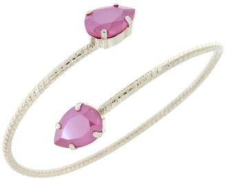 Rosaspina Firenze Double Drop Bracelet in Peony Pink