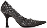 MM6 MAISON MARGIELA Black Bubble Wrap Heels