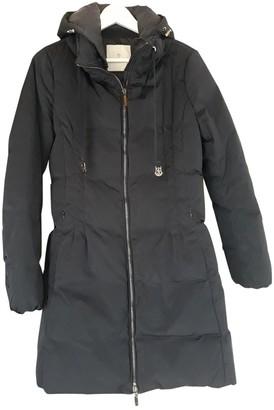 Moncler Long Blue Synthetic Coats
