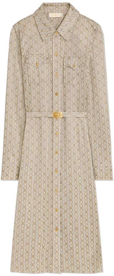 Tory Burch GEMINI LINK KNIT SHIRTDRESS