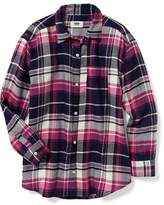 Old Navy Flannel Boyfriend Shirt for Girls