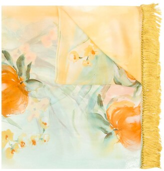 Gianfranco Ferre Pre-Owned 1990's floral scarf