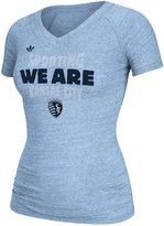 adidas Women's Sporting Kansas City Slim-Fit T-Shirt