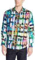 Robert Graham Men's Ernie Bishop Long Sleeve Woven Shirt