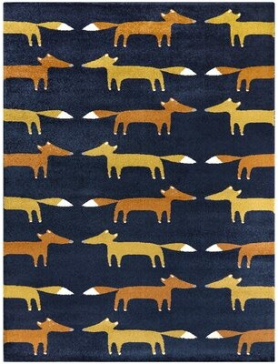 """Blue Area Isabelle & Max Blanchett Rug Isabelle & Max Rug Size: Rectangle 3'11"""" x 5'7"""""""