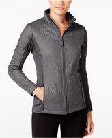 Ideology Colorblocked Quilted Jacket, Only at Macy's