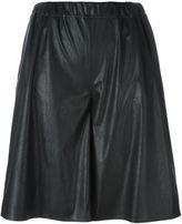 MM6 MAISON MARGIELA wide leg knee shorts - women - Polyester/Polyurethane/Viscose - 40