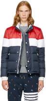 Thom Browne Tricolor Down Three-panel Jacket