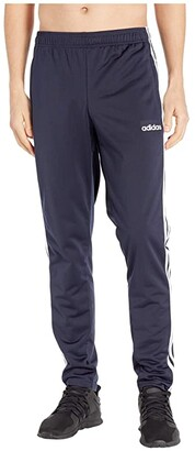 adidas Essentials 3-Stripe Tricot Tapered Pants (Legend Ink/White) Men's Workout