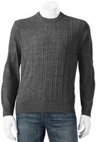 Dockers Big & Tall Classic-Fit Marled Comfort Touch Crewneck Sweater