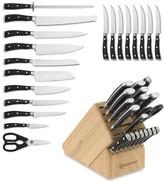 Wusthof Classic Ikon 20-Piece Knife Block Set