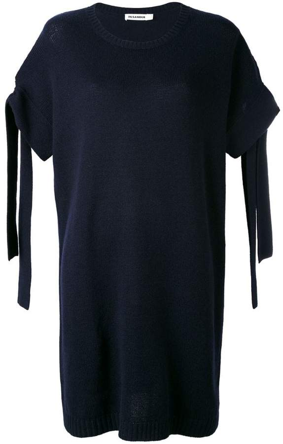 Jil Sander sleeve detail dress