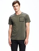 Old Navy Go-Dry Crew-Neck Pocket Tee for Men
