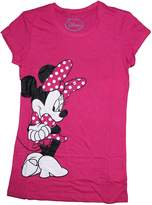 Disney Classic Minnie Mouse Womens Pajama T Shirt Top