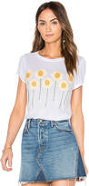 Lauren Moshi Janie Classic Tee in White. - size L (also in M,S,XS)
