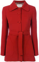 L'Autre Chose belted fitted coat