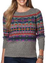 Chaps Plus Fair Isle Sweater