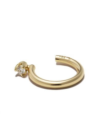 Zoë Chicco 14kt Yellow Gold Diamond Curved Ear Cuff