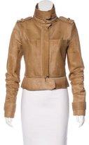 Herve Leger Dana Ponyhair Jacket
