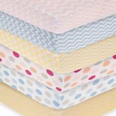 Carter's Mix & Match Printed Fitted Crib Sheets