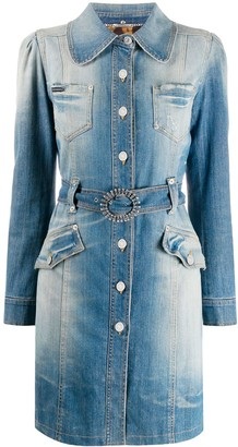 Dolce & Gabbana Pre-Owned Denim Trench Coat