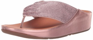 FitFlop Women's Twiss Crystal Toe-Post Sandal