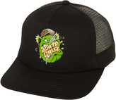 Santa Cruz Kids Trooper Trucker Cap Black