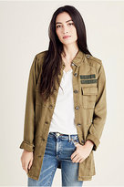 True Religion Womens Military Jacket