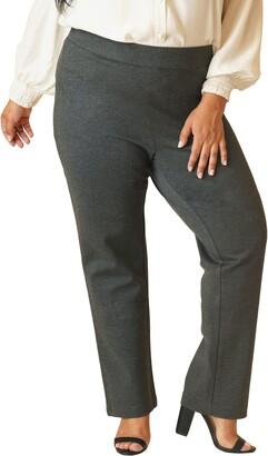 Marée Pour Toi Straight Leg Compression Knit Pants